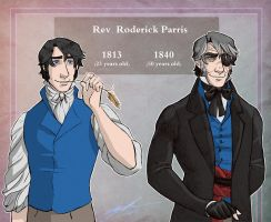 Roderick 1813 and 1840 by saylem
