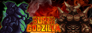 Super Godzilla Poster 01 - The Battle of Century! by KingAsylus91