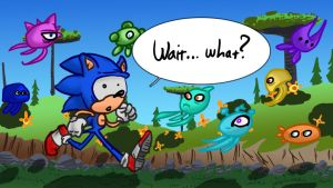 Sonic and the Magical Squids by LeSam