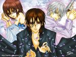vampire knight 3some by SteefLess
