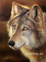 """Evening Scout"" - Realism by robybaer"