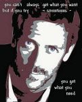 Hugh Laurie House theme by NeonGlo