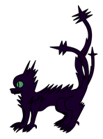 Ender thing-NEEDS SPECIES NAME!-UNDER CONSTRUCTION by Moss-TheCat-path