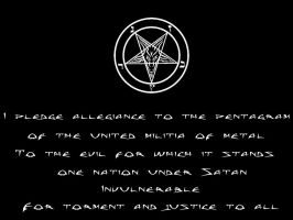 The Pledge Of Allegiance by black-metal