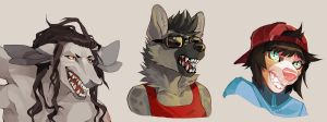 headshot commission batch from FA by HJeojeo