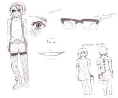 Character Design Sketch by stickypenguin