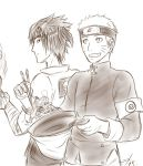 Ichiraku employees by Midorikawa-eMe111
