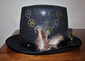 Steampunk Top Hat Left by OzKid96