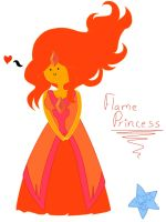Flame Princess~A color by NatalieMoonstar