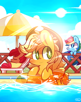 Swimming pool by ILifeloser