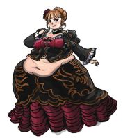 Beatrice BBW by TheAmericanDream