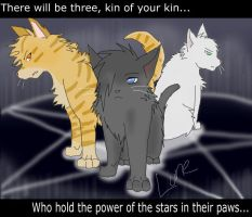 Warrior Cats-Power of Three by Caesol