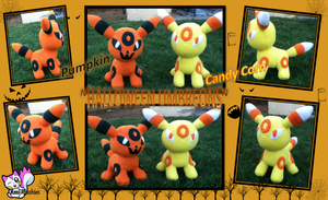 Halloween Umbreons Set 1 :Closed: by Ami-Plushies