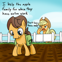 Ask Dat Caramel: What do you do for a living? by CrispyChris