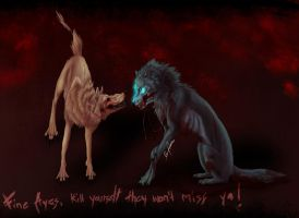 Kill yourself by Wolfofpulse