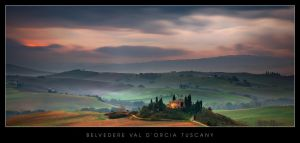 Val D'Orcia by dfm63