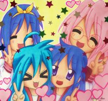 Lucky Star - We Love Kagami by XxPonyPuffPrincessXx