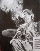 Dexter Gordon by tacsitimea