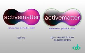 Active Matter Logo Redesign. by vijay-dffrnt