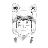 Sketch of My Avatar by aLameUserName
