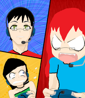 Video game anger xD by FDairyAnime
