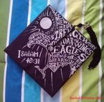 College Graduation Cap 2015 by EagleFlyte