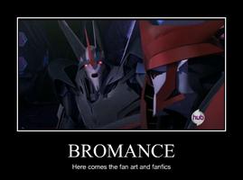 Starscream and Knockout bromance by Missfireandice