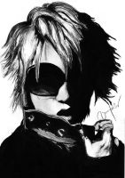 Ruki The GazettE by ShinigamiDesu