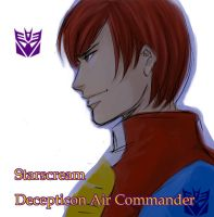 Starscream human version by mmmmmr