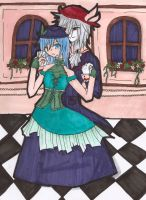 N_ beauty and the beast by CrazyMadHatterXP
