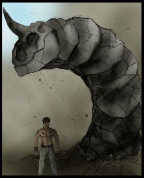 Brock with Onix by JoshuaDunlop