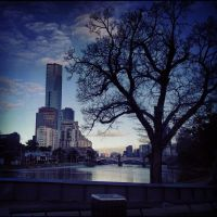 Morning across the river by docyboy123
