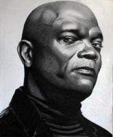 Samuel L Jackson by donchild