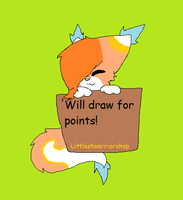 Will draw for points! by H3ARTOFTHEOCEAN