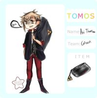 {T-O-M-O-S} TOMOS TEAMS - Aoi Tsukino by DarknedStar