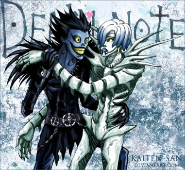 Death Note: Ryuk and Rem by Kaiten-san