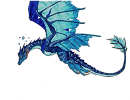 Water Dragon by TakenFlyght