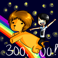 300,000 Subscribers!(2) by bunnybacon
