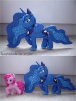 MLP Princess Luna FIMO 2 by Qucykowa
