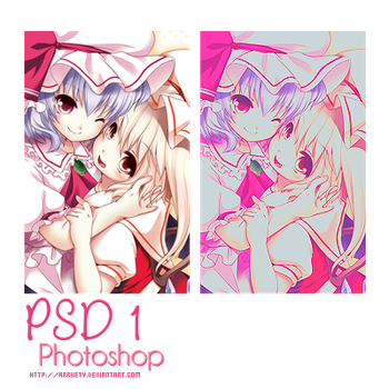 PSD coloring 1 by Arriiety