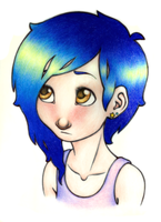 bluehair again by unsteadily