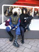 Madara and Kakashi Cosplay by Kakaoshi