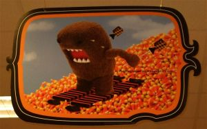 Domo-kun Halloween 013. by GermanCityGirl