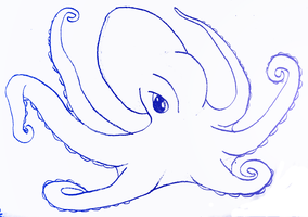 March AOM: Octopus by SakeVanHelsing