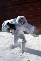 Snowbunny Padme on Ilum by BenaeQuee