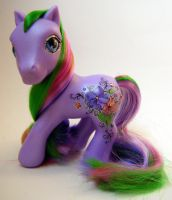 My Little Pony Custom Violette by eponyart