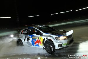 Rally Sweden at night by SestoElemento