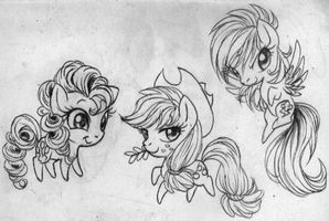 sketch_PP AJ and RD by G-Blue16
