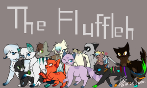 The Fluffeh Clan by baimon2000