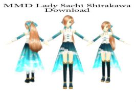 MMD Lady Sachi Shirakawa Download by SachiShirakawa
